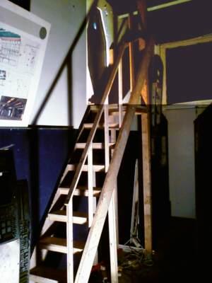 Treppe Rohbau Fertigstellung