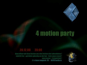 4 motion party