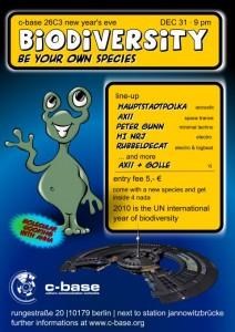 biodiversity flyer