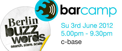 Berlin Buzzwords barcamp c-base