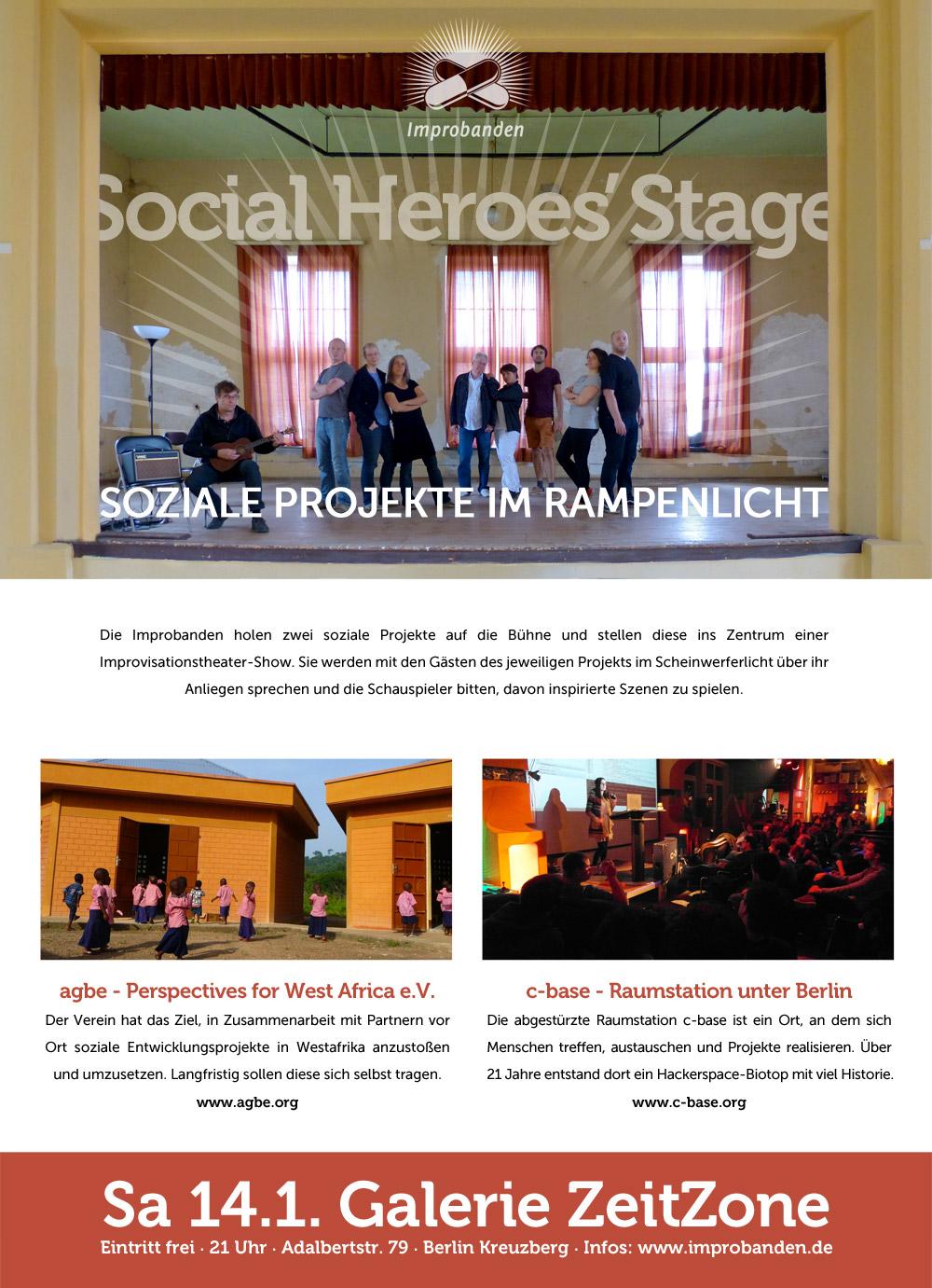 Social Heros Stage