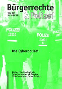 """""""Bürgerrechte und Polizei"""" von November 2017"""