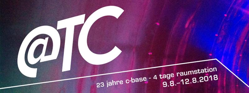 Logo der @tc 2018
